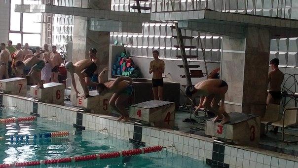 Соревнования по плаванию в зачет Спартакиады