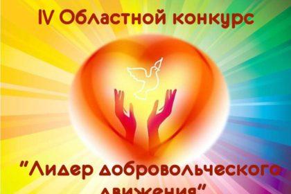 """Областной конкурс """"Лидер добровольческого движения 2017"""""""