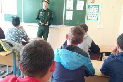 Встреча студентов с выпускником, отслужившим в рядах Российской армии