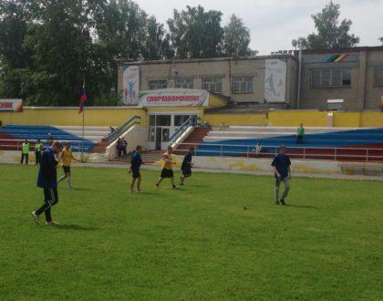 Игры по футболу, в рамках празднования Дня молодёжи