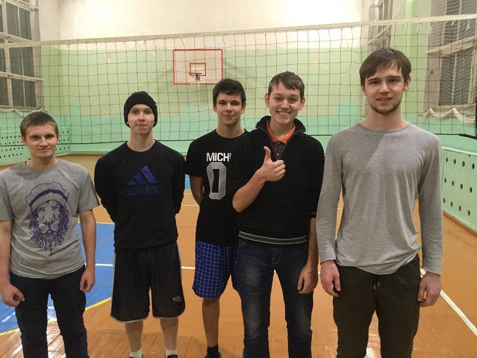 Первенство политехникума по волейболу