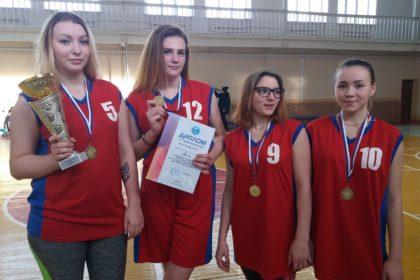Поздравляем сборную девушек по стритболу