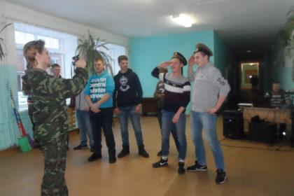 Конкурсно-игровая программа «Аты- баты, шли солдаты»