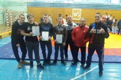 Поздравляем призеров чемпионата СО по вольной борьбе