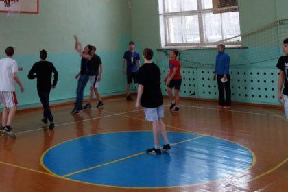 Финальные игры по баскетболу на Первенство политехникума