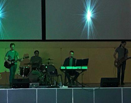 На концерте группы «Железный Озон»