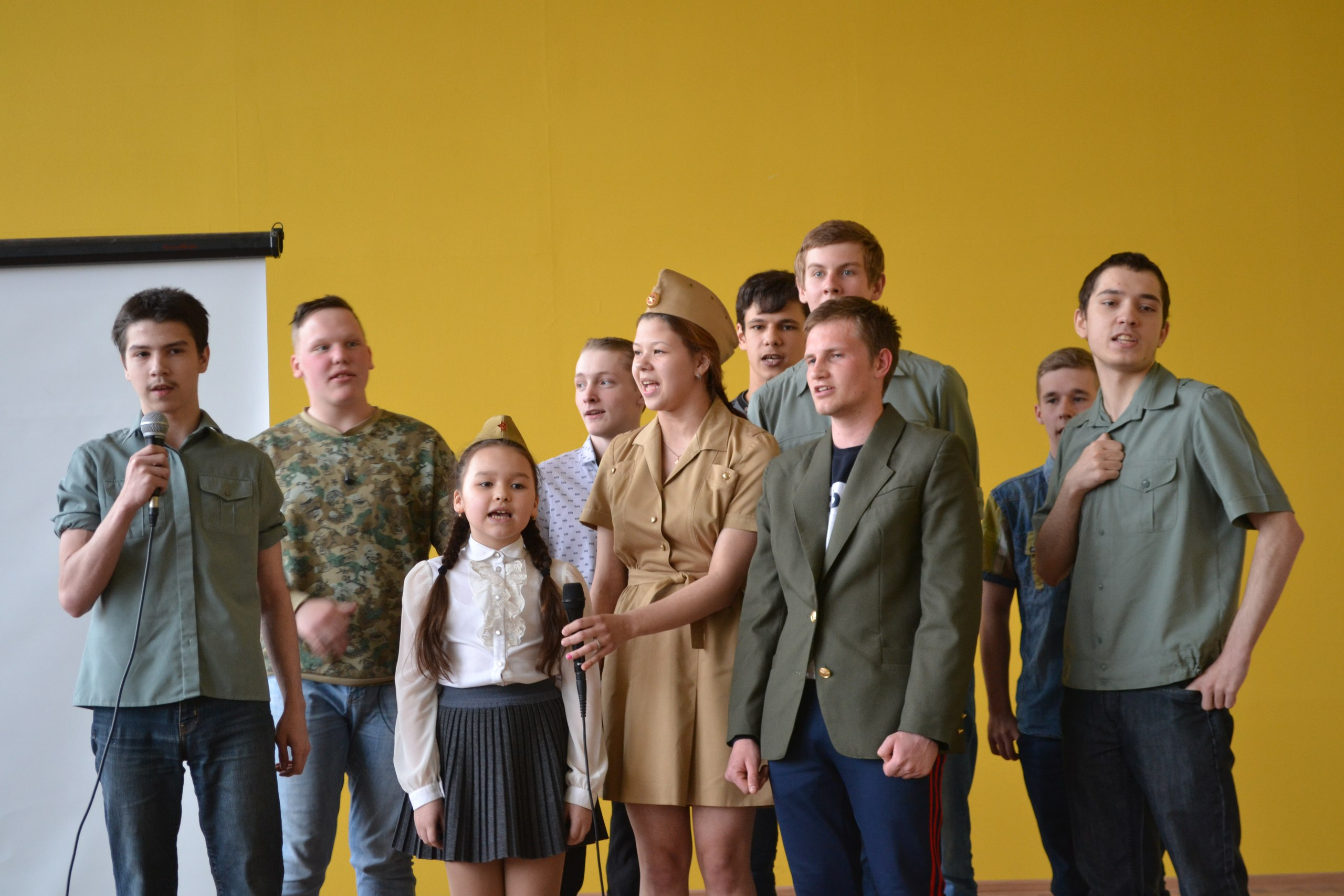 Итоги конкурса военно-патриотической песни
