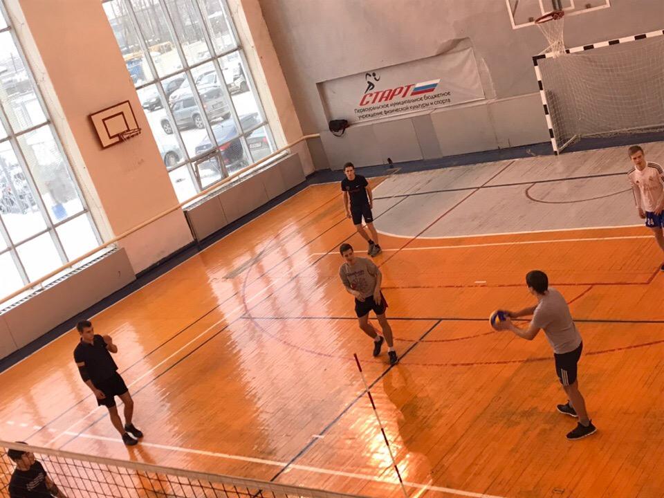 Волейбол. Первый вид Спартакиады