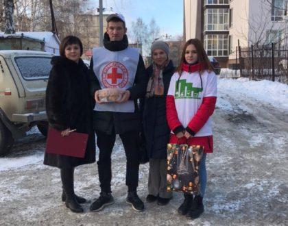 """Акция """"Теплые встречи"""""""