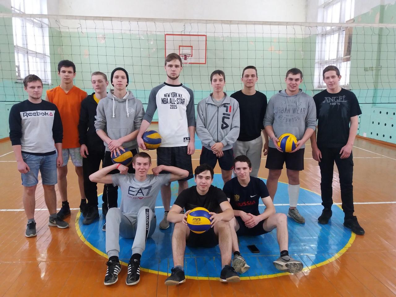 Итоги первенство политехникума по волейболу
