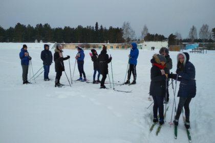Первенство политехникума по лыжным гонкам