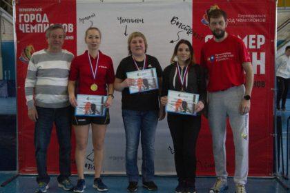 Открытый турнир Первоуральска по настольному теннису